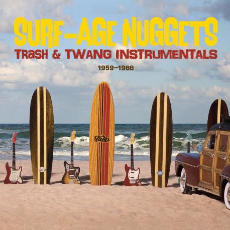 Surf Nuggets: Trash & Twang Instrumentals--1959-1966